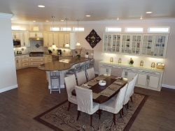 Kitchen-Dining-Serving Area